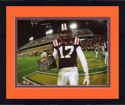 Framed FULLER, KYLE AUTO (VA TECH/LUNCH PAIL) 8X10 PHOTO - Mounted Memories