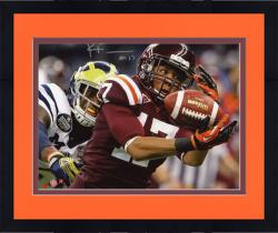 Framed FULLER, KYLE AUTO (VA TECH/RED/VS MICH) 8X10 PHOTO - Mounted Memories