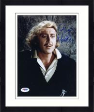 "Framed Gene Wilder Autographed 8""x 10"" Young Frankenstein Black Sweater Photograph - Beckett COA"