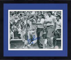 "Framed George Brett Kansas City Royals Pine Tar Incident Autographed 8"" x 10"" Photograph"