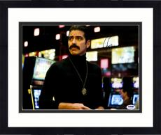 "Framed George Clooney Autographed 11""x 14"" Oceans 13 In Disguise Photograph - PSA/DNA COA"