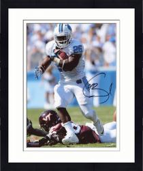 "Framed Giovani Bernard North Carolina Tar Heels Autographed 8"" x 10"" Vertical White Uniform Photograph"