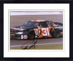 Framed Robby Gordon Autographed 8'' x 10'' Cingular In Car Photograph