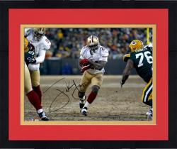 Framed Frank Gore San Francisco 49ers Autographed 16'' x 20'' vs. Green Bay Packers Photograph