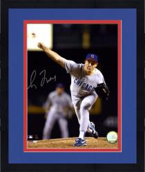 Framed Greg Maddux Chicago Cubs Autographed 8'' x 10'' Night Shot Photograph