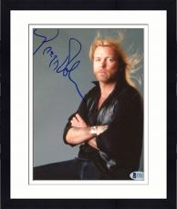 "Framed Gregg Allman Autographed 8""x 10"" The Allman Brothers Arms Crossed Photograph - Beckett COA"