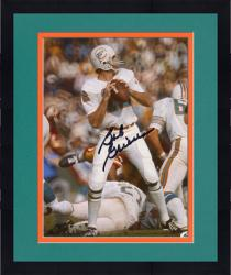 Framed GRIESE, BOB AUTO (DOLPHINS/LOOK/THROW) 8X10 PHOTO - Mounted Memories