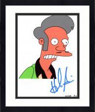 "Framed Hank Azaria Autographed 8"" x 10"" The Simpsons Apu Nahasapeemapetilon Photograph - Beckett COA"