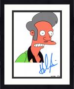 "Framed Hank Azaria Autographed 8"" x 10"" The Simpsons Apu Nahasapeemapetilon Photograph - Beckett COA"