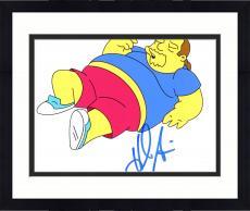 "Framed Hank Azaria Autographed 8"" x 10"" The Simpsons Comic Book Guy Photograph - Beckett COA"