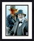 """Framed Harrison Ford Autographed 11"""" x 14"""" Indiana Jones with Sean Connery Photograph - BAS COA"""