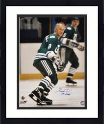 """Framed Gordie Howe Hartford Whalers Autographed 16"""" x 20"""" Pose Photograph with Mr. Hockey Inscription"""
