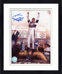 Framed HARVICK, KEVIN AUTO (GOODWRENCH/ON CAR) 8X10 PHOTO - Mounted Memories
