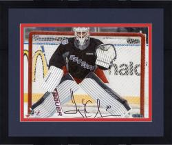 Framed Henrik Lundqvist New York Rangers Autographed 8'' x 10'' Stadium Series Photograph
