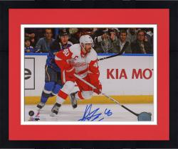 "Framed Henrik Zetterberg Detroit Red Wings Autographed 8"" x 10"" Photograph"
