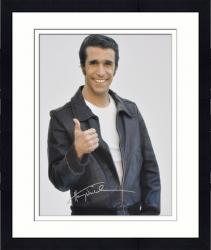 Framed Henry Winker Autographed 16'' x 20'' White Background Photograph