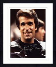 """Framed Henry Winkler Autographed 8"""" x 10"""" Head Shot Photograph"""