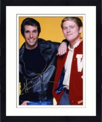"""Framed Henry Winkler Autographed 8"""" x 10"""" with Ron Howard Photograph"""