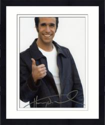 Framed Henry Winkler Autographed 8'' x 10'' White Background Photograph