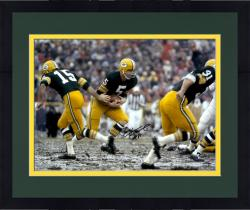 Framed Paul Hornung Autographed 16x20 Photo - HOF 86