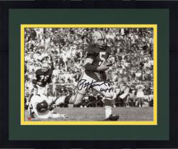 "Framed HORNUNG, PAUL AUTO ""HOF86"" (PACKERS/BW HORIZ VS BEARS) 8X10 - Mounted Memories"