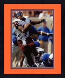 Framed HUMES, CEDRIC AUTO (VA TECH/VS DUKE/BREAKING TACKLE) 8x10 - Mounted Memories