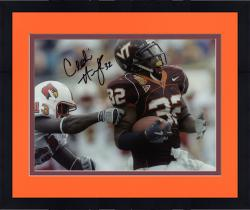 Framed HUMES, CEDRIC AUTO (VA TECH/VS LOUISVILLE/HORZ) 8X10 PHOTO - Mounted Memories