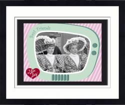 Framed I LOVE LUCY (A WONDERFUL PAIR) SUBLIMATED PLAQ (10x13 BOARD)