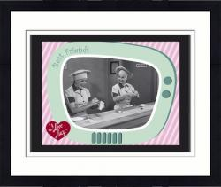 Framed I LOVE LUCY (CHOCOLATE FACTORY) SUBLIMATED PLQ (10x13 BOARD)