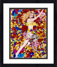 "Framed Iggy Azalea Autographed 11"" x 14"" Pose with Flowers Photograph - PSA/DNA"