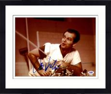 "Framed Jack Nicholson Autographed 11"" x 14"" One Flew Over The Cuckoo's Nest - Spraying Water Photograph - PSA/DNA"