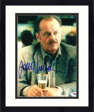 """Framed Jack Nicholson Autographed 8""""x 10"""" The Pledge Drinking Beer Photograph - PSA/DNA COA"""