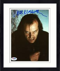 """Framed Jack Nicholson Autographed 8""""x 10"""" The Shining Making Crazy Face Photograph - PSA/DNA COA"""