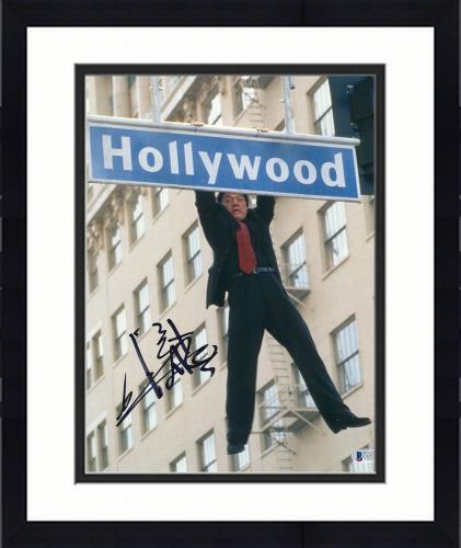 "Framed Jackie Chan Autographed 11"" x 14"" Rush Hour Hollywood Sign Photograph - BAS COA"