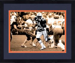 Framed JACKSON, BO AUTO (AUBURN/SPOTLIGHT) 11X14 PHOTO - Mounted Memories
