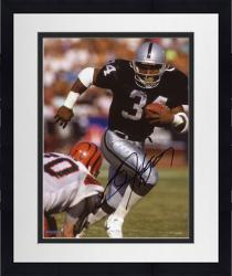 Framed Bo Jackson Autographed Raiders 8x10 Photo