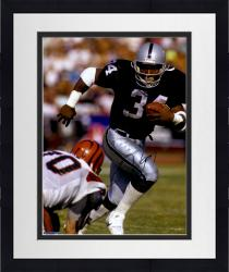 Framed JACKSON, BO AUTO (RAIDERS/RUNNING VS CIN) 16X20 PHOTO - Mounted Memories
