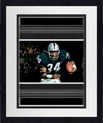 Framed Bo Jackson Raiders Autographed Film Strip 10x30 Photo LE34 #2-33