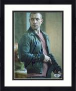 """Framed Jai Courtney Autographed 8"""" x 10"""" A Good Day to Die Hard Gun Photograph - Beckett COA"""