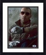 """Framed Jai Courtney Autographed 8"""" x 10"""" A Good Day to Die Hard Look at Watch Photograph - Beckett COA"""