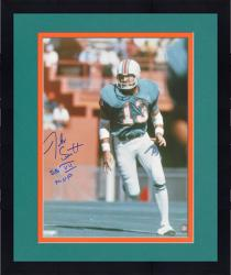 "Framed Jake Scott Miami Dolphins SB VII Autographed 16x20 Photograph with ""MVP SB VII"" Inscription - Mounted Memories"