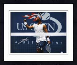 Framed James Blake Autographed Photo - 16x20 - Steiner