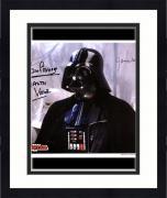 "Framed James Earl Jones & David Prowse Star Wars Autographed 8"" x 10"" Photograph with ""Darth Vader"" Inscription - JSA"