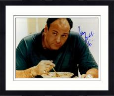 "Framed James Gandolfini Autographed 16"" x 20"" Sopranos Photograph - JSA"