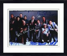 Framed James Gandolfini & The Sopranos Cast Autographed Photo - 8x10 PSA LOA