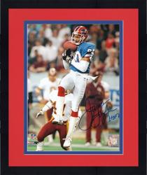 Framed James Lofton Buffalo Bills Autographed 8'' x 10'' Catch Photograph with HOF 03 Inscription