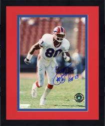 Framed James Lofton Buffalo Bills Autographed 8'' x 10'' Star Photograph with HOF 03 Inscription