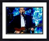 "Framed James Taylor Autographed 11""x 14"" Playing Guitar In Suit Jacket Photograph  - PSA/DNA COA"
