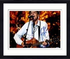 "Framed James Taylor Autographed 11""x 14"" Playing Guitar Wearing Glasses Photograph  - PSA/DNA COA"