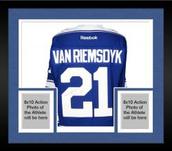 Framed James van Riemsdyk Toronto Maple Leafs Autographed Premier Winter Classic Jersey